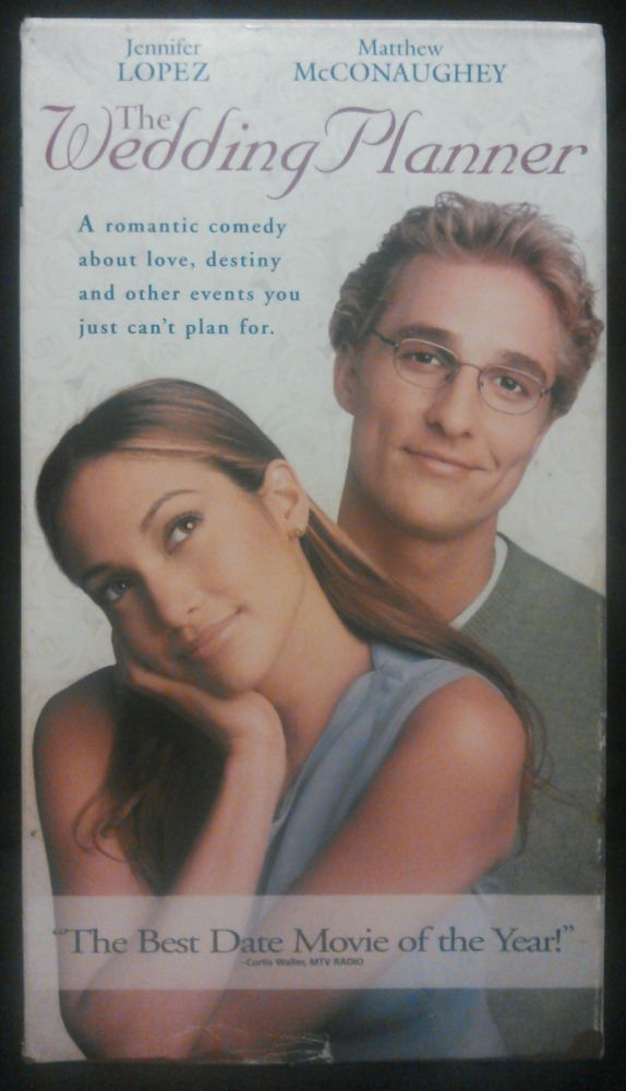 Details About The Wedding Planner Vhs 2001 Used Romantic Comedy Jennifer Lopez