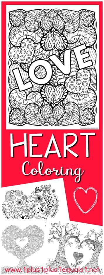 Valentine's Day Coloring for Kids and Adults