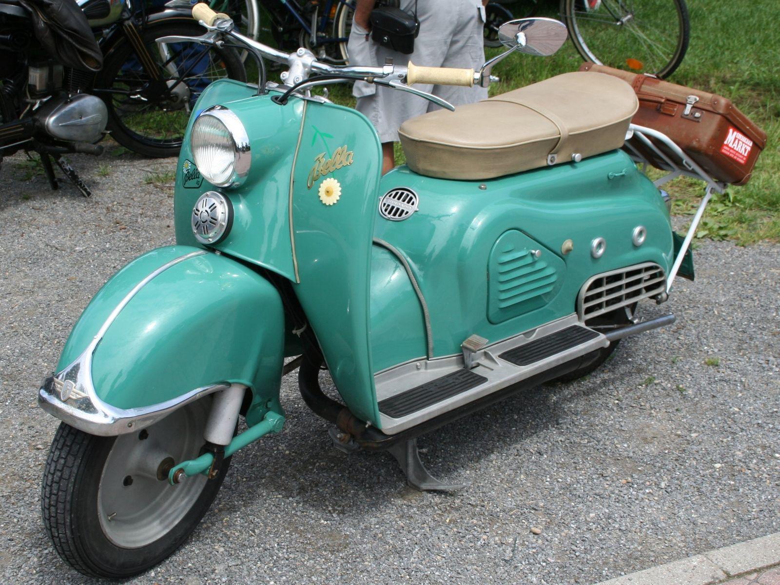 Zundapp Bella Motorroller Oldtimer Motorrad Moped