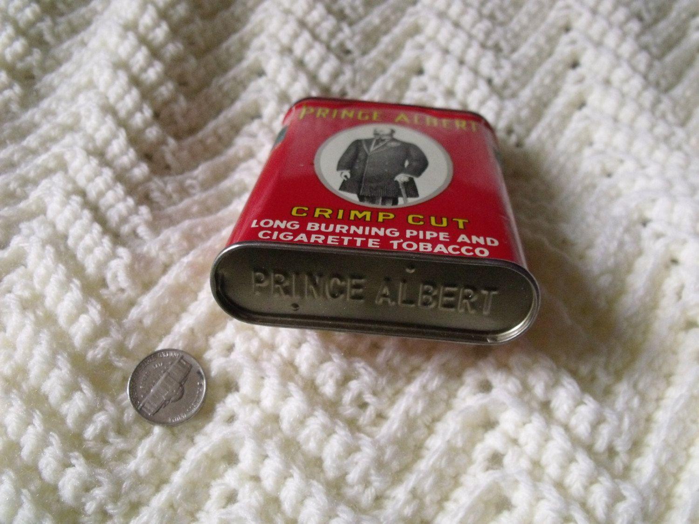 vintage tobacco tin (11.00 USD) by VintagePaintingYarn