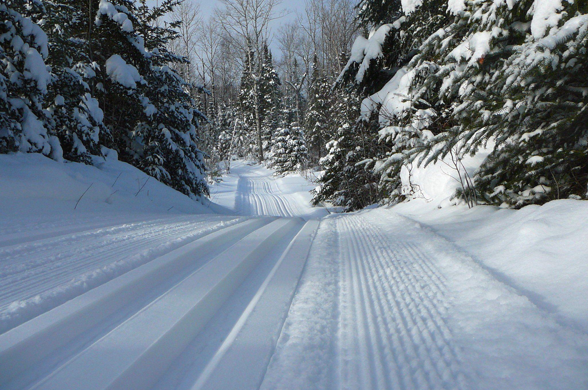 Cross Country Skiing Northeastern Minnesota Cross Country Skiing Ski Trails Lake Tahoe Skiing