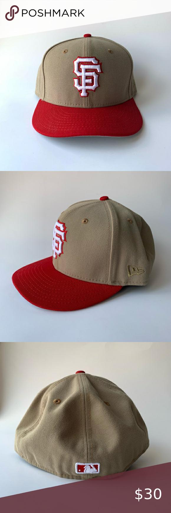 San Francisco Giants X 49ers Hat Club New Era 5950 Hat Club Exclusive New Era San Francisco Giants Hat With The 49ers New Era San Francisco Giants 49ers Colors