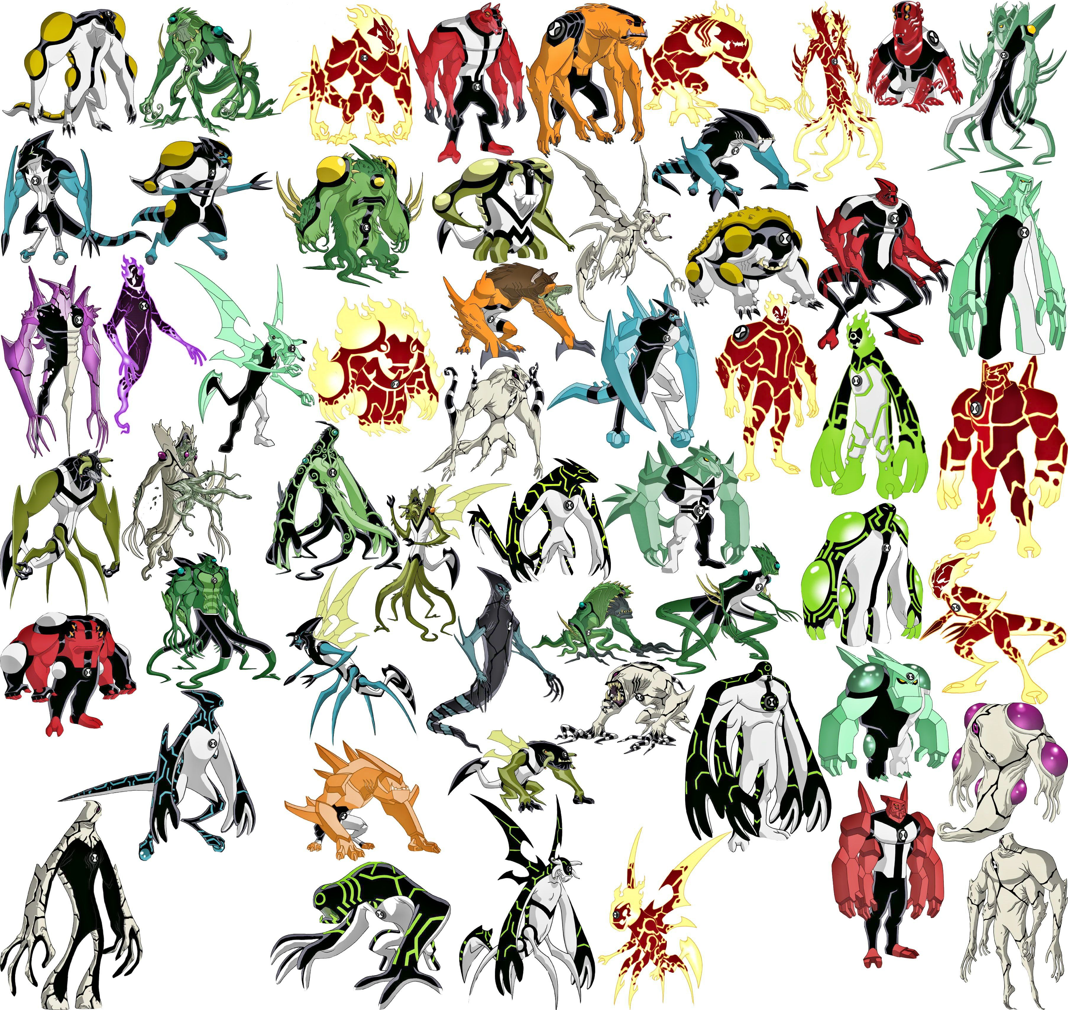 Ben 10 Omniverse Villains List Pictures To Pin On Pinterest