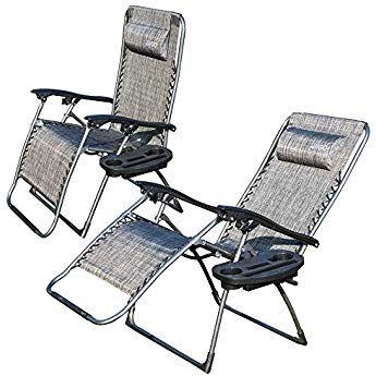 Eyepower AMANKA Campingstuhl Liegestuhl Freizeitliege Sonnenliege Strandliege Campingliege Klappliege Liege 153cm Beige