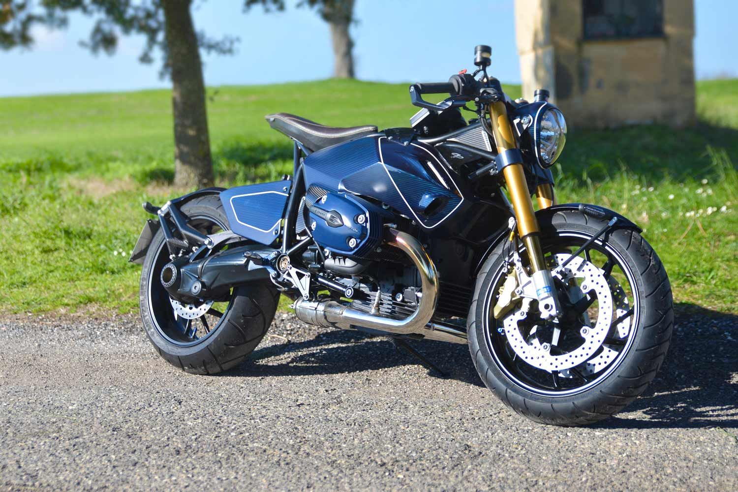 GP Design Diva R1200S ~ Return of the Cafe Racers