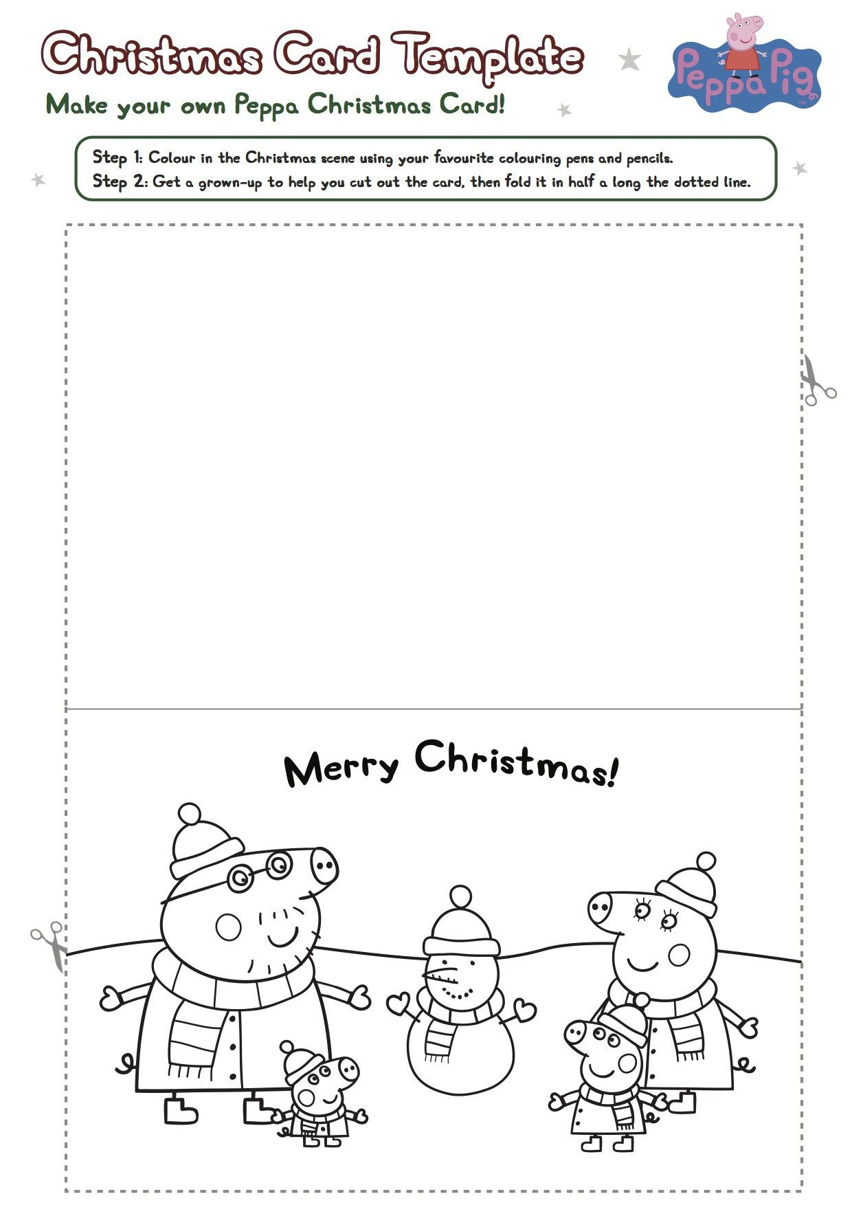 Peppa Pig Printable Christmas Worksheets | Worksheets, Kids ...