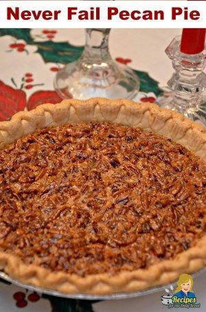 Never Fail Pecan Pie #pecanpierecipe