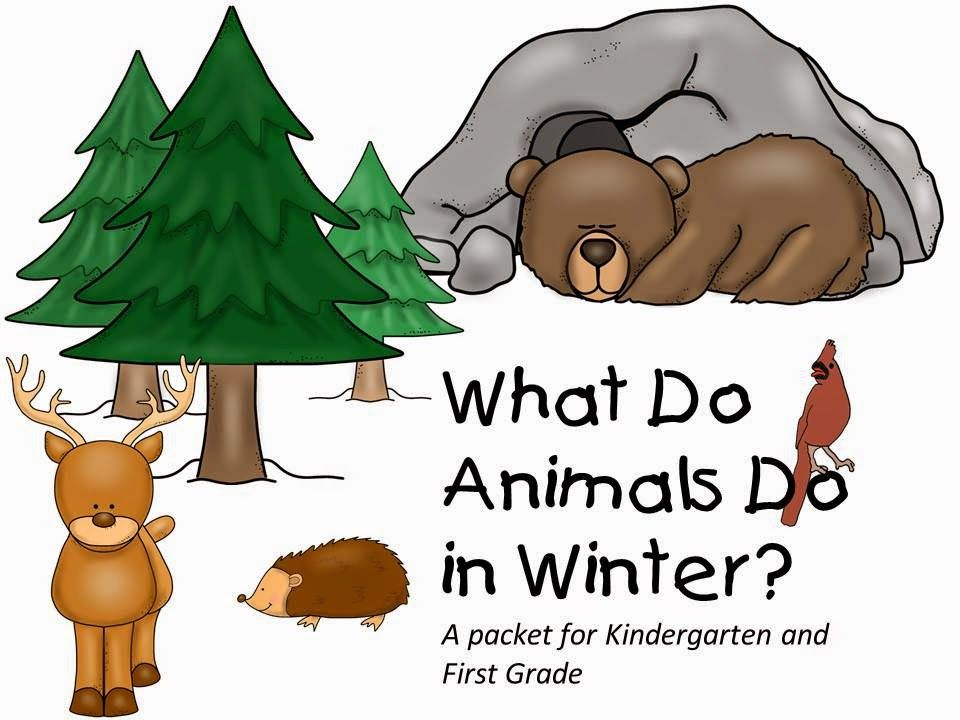 animals in the winter clip art - Google Search   science ...