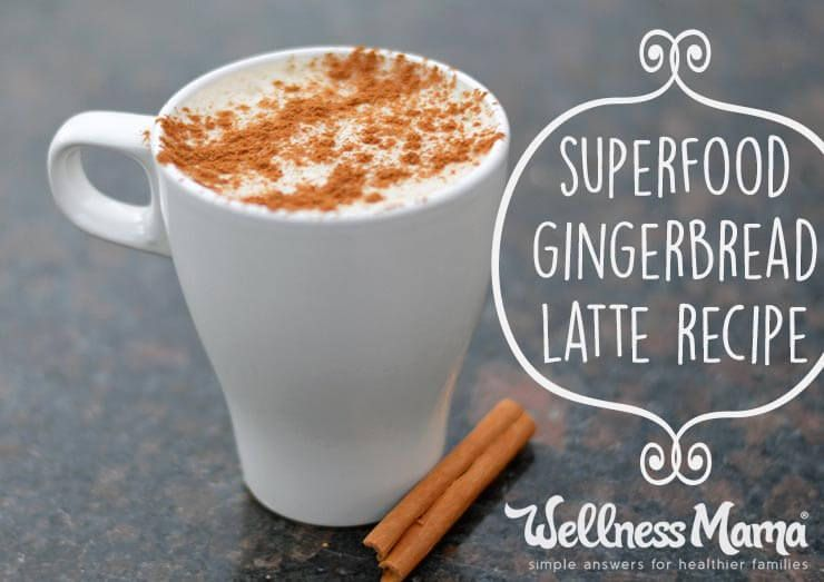 Superfood Gingerbread Latte Recipe Superfood Gingerbread Latte: Pretty  yummy - I added coconut milk
