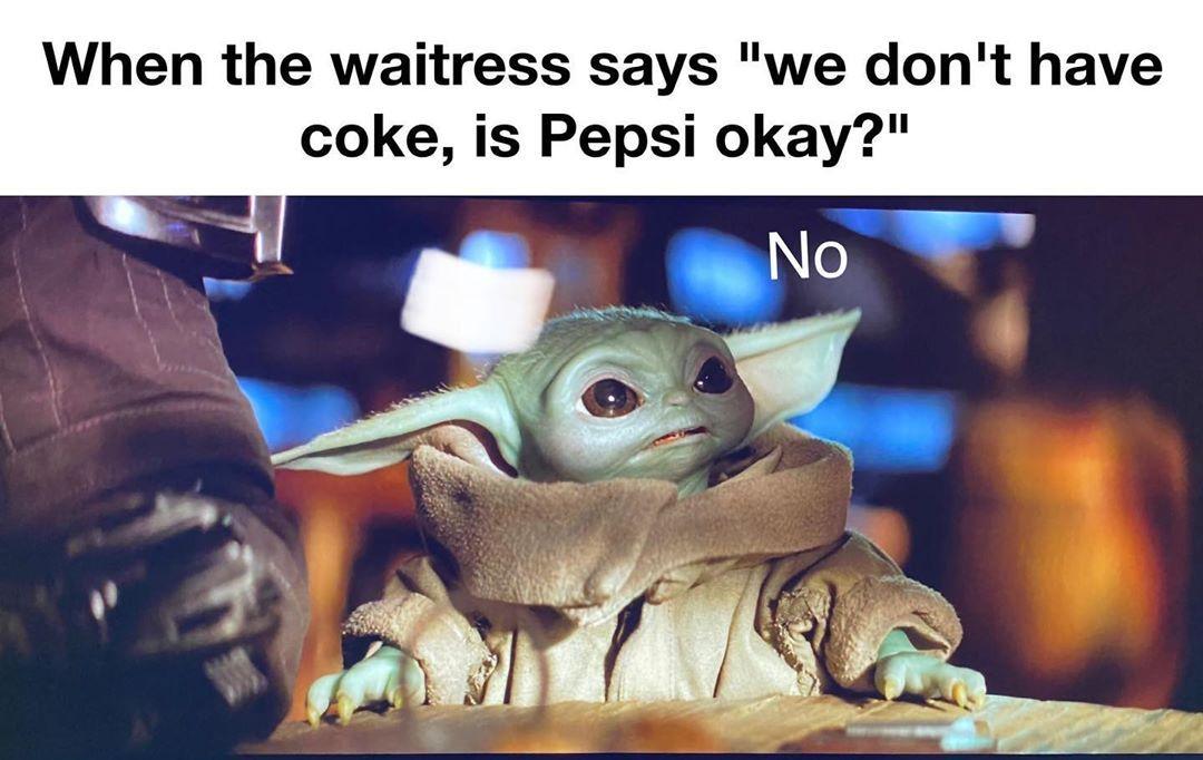 The Real Baby Yoda On Instagram Babyy Y0da Yoda Funny Yoda Meme Yoda Pictures