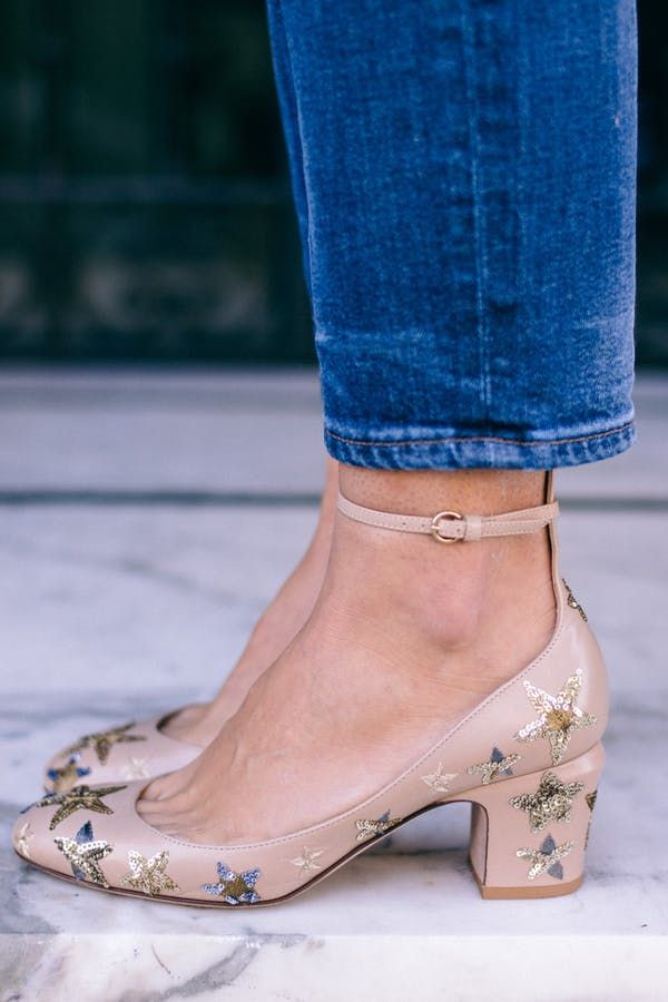 c7195590249f Fashion FYI  Maximalist Shoes Are What Every Cool Girl Is Wearing Now   purewow  fashion  shoes  trends