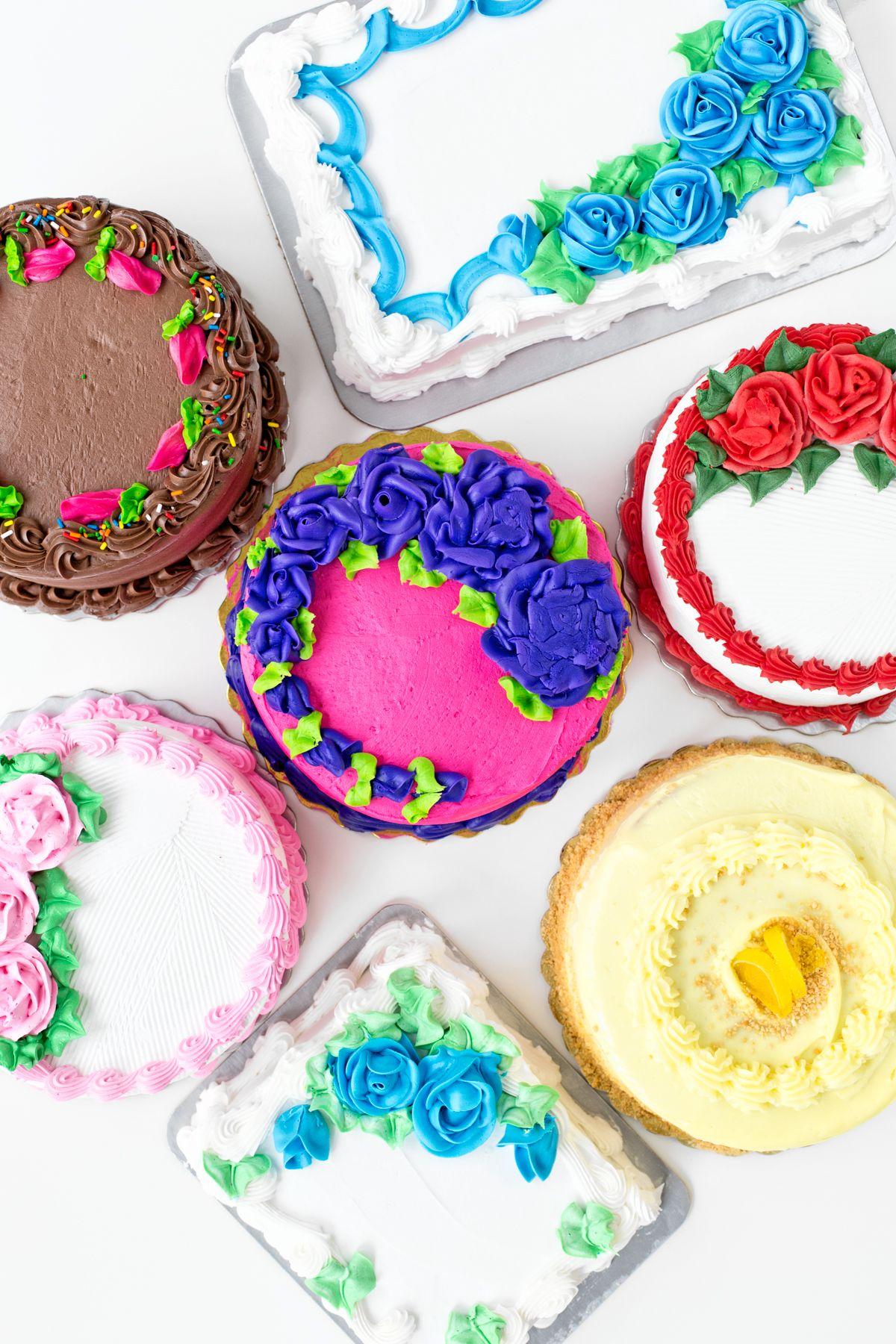 Cakeover Six Grocery Store Cake Hacks Cake Birthday Cake