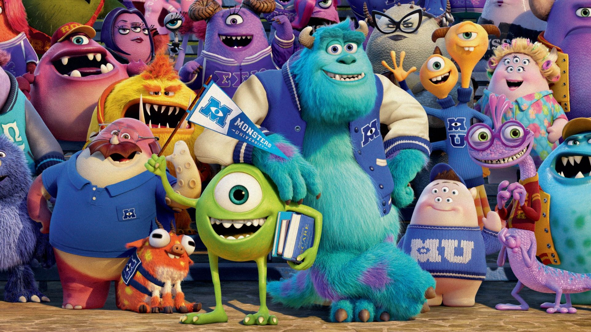monsters university movie wallpapers and desktop backgrounds hd free