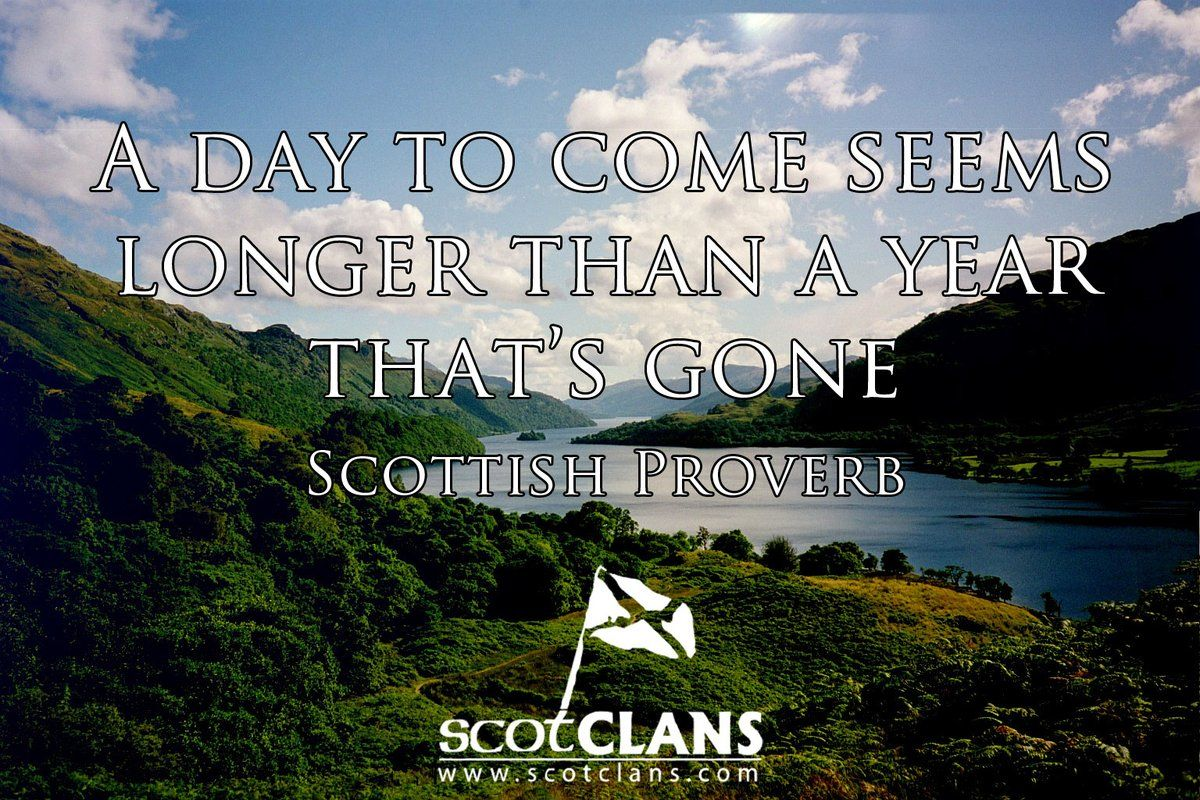 Especially if your about to come to Scotland! WiseWords