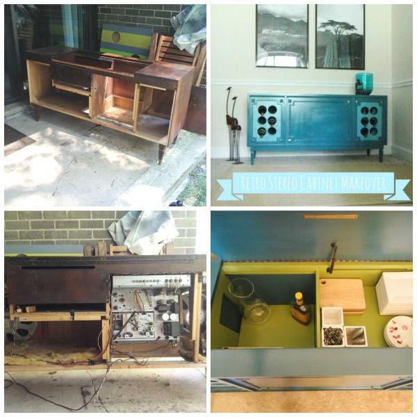 17 Best images about Stereo cabinet redo on Pinterest | Radios, Old record  player and Repurposed