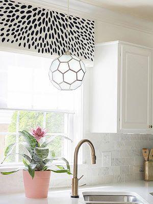 Bold Black-and-White Pattern DIYs