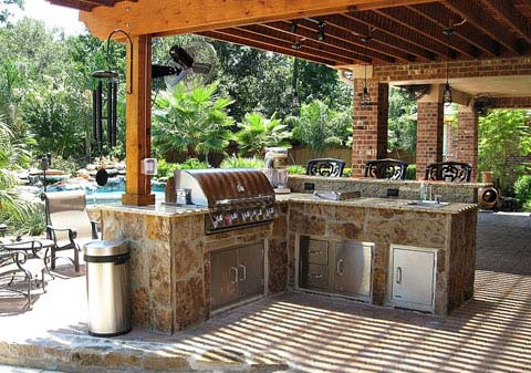 What Are Unfinished Bbq Island Cabinets Bbqguys In 2020 Build Outdoor Kitchen Outdoor Kitchen Appliances Outdoor Living Kitchen