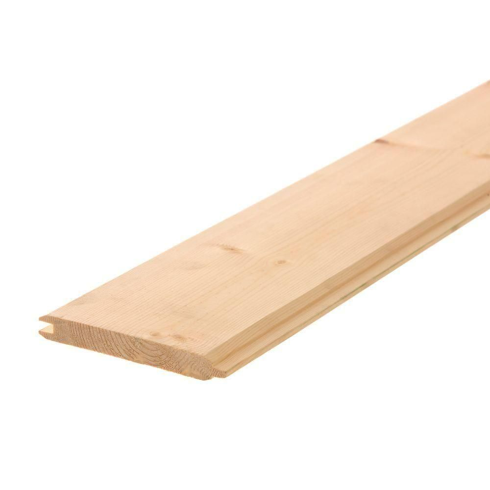 Unbranded Pattern Stock Gorman Tongue And Groove Board Common 1 In X 6 In X 8 Ft Actual 0 688 In X 5 37 In X 96 In 168ptg The Home Depot Cedar