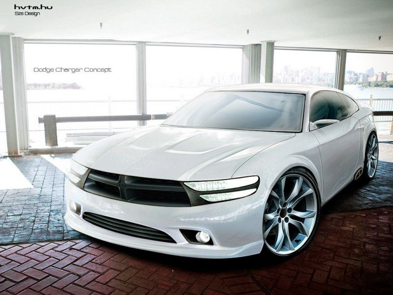The 2017 Dodge Charger concept, which is the latest model of Dodge ...