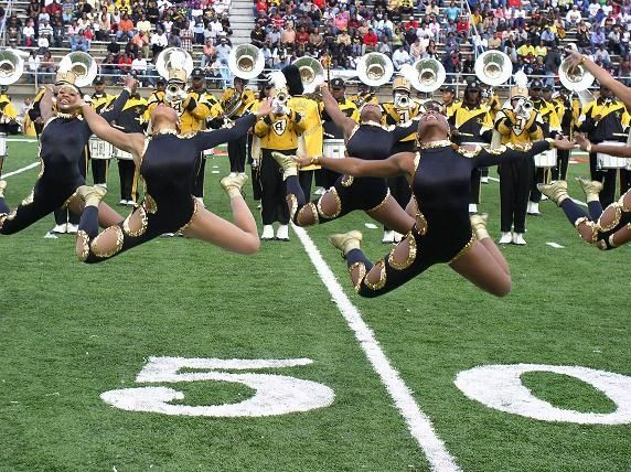 Alabama State University Marching Hornets And The Stingettes