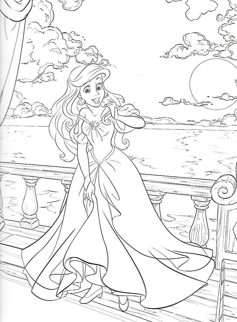 Coloring Pages Www Pinterest De Coloring Pages Pinterest Wwwpinterestde Ariel Coloring Pages Mermaid Coloring Pages Disney Coloring Pages