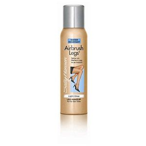 Sally Hansen Airbrush Legs Light Glow Leg Makeup With Vitamin K, 4.4 oz  This will seriously make your legs look flawless!