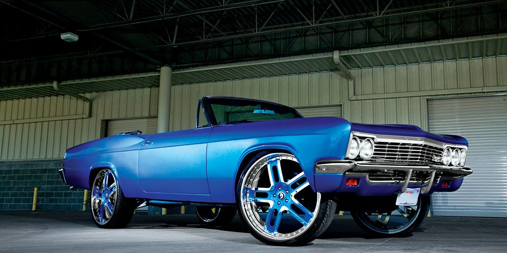 blue old school impala | Chevrolet Full Size | Pinterest | School ...