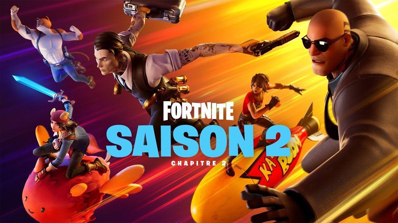 Le Chapitre 2 De La Saison 2 De Fortnite Est Maintenant Disponible En Tant Que Mise A Jour Gratuite Sur Ps4 Xbox One Switch Pc En 2020 Saison 2 Fortnite Les Saisons