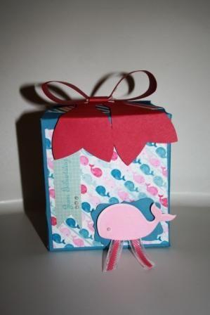 Stampin' Up! Geburtstagsbox für kleine Mädchen