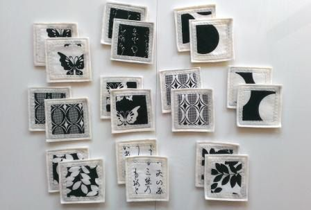 Felt Fabric Memory Game Black & White MINI by MyPipouneShop, $30.00