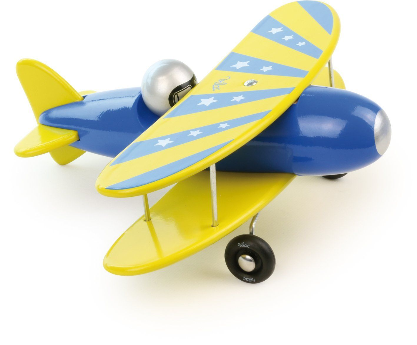 как раскрасить деревянный в картинках самолетик буркой, тут