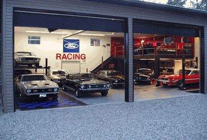 Ford garage garage pinterest taller garajes y for Garage ford 62