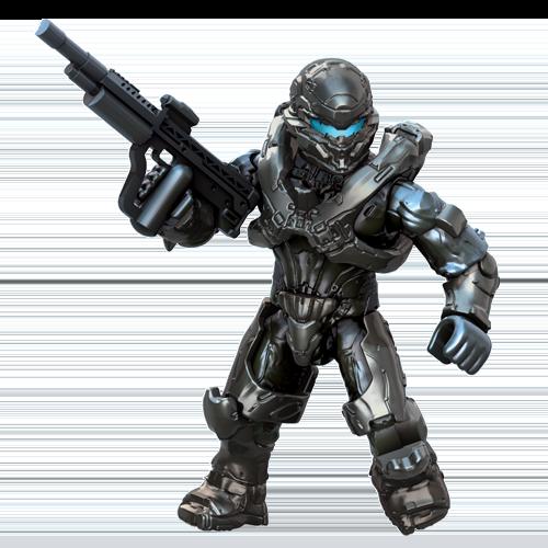 UNSC Spartan Locke | 3D print, Toys | Lego halo, Halo