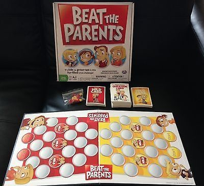 awesome Beat The Parents Board Game - Family Game - Kids  Adult Trivia Challenge 6+ - For Sale Check more at http://shipperscentral.com/wp/product/beat-the-parents-board-game-family-game-kids-adult-trivia-challenge-6-for-sale/