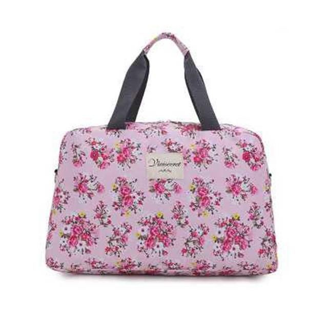 a996c7a8c2fe Sports gym bag Women Lady Large Capacity Floral Duffel Totes Sport Bag  Multifunction Portable Sports Travel Luggage Gym Fitness Bag 4 Colors KO 5 1
