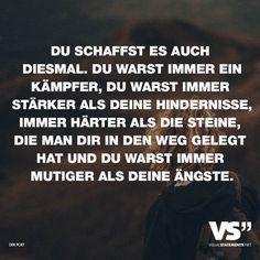 DU SCHAFFST ES AUCH DIESES MAL! 😎💪