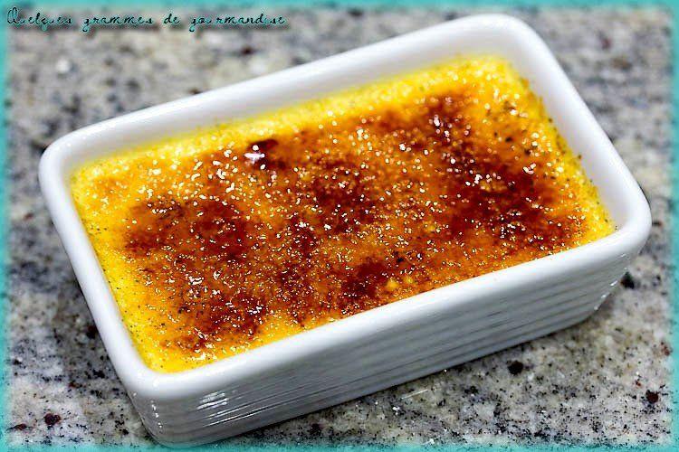 Crème brûlée de Conticini #cremebrulée