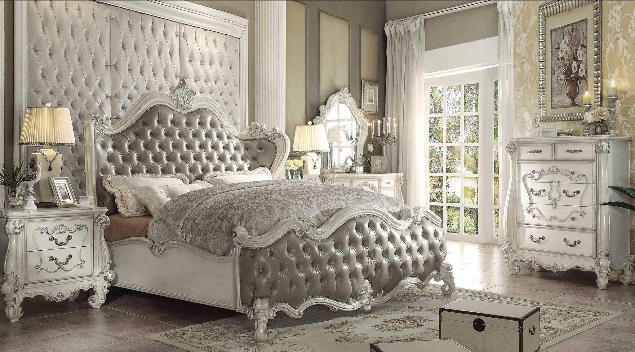 Versailles 5 Pcs Bedroom Sets  Bedroom sets queen, Bedroom