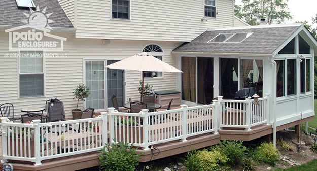 Sunroom With Deck Ideas Pictures Enclosed Patio Patio Room Patio Design