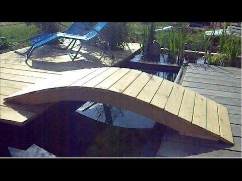 TUTO création d\'un pont pour bassin de jardin ou d\'ornement, pont ...