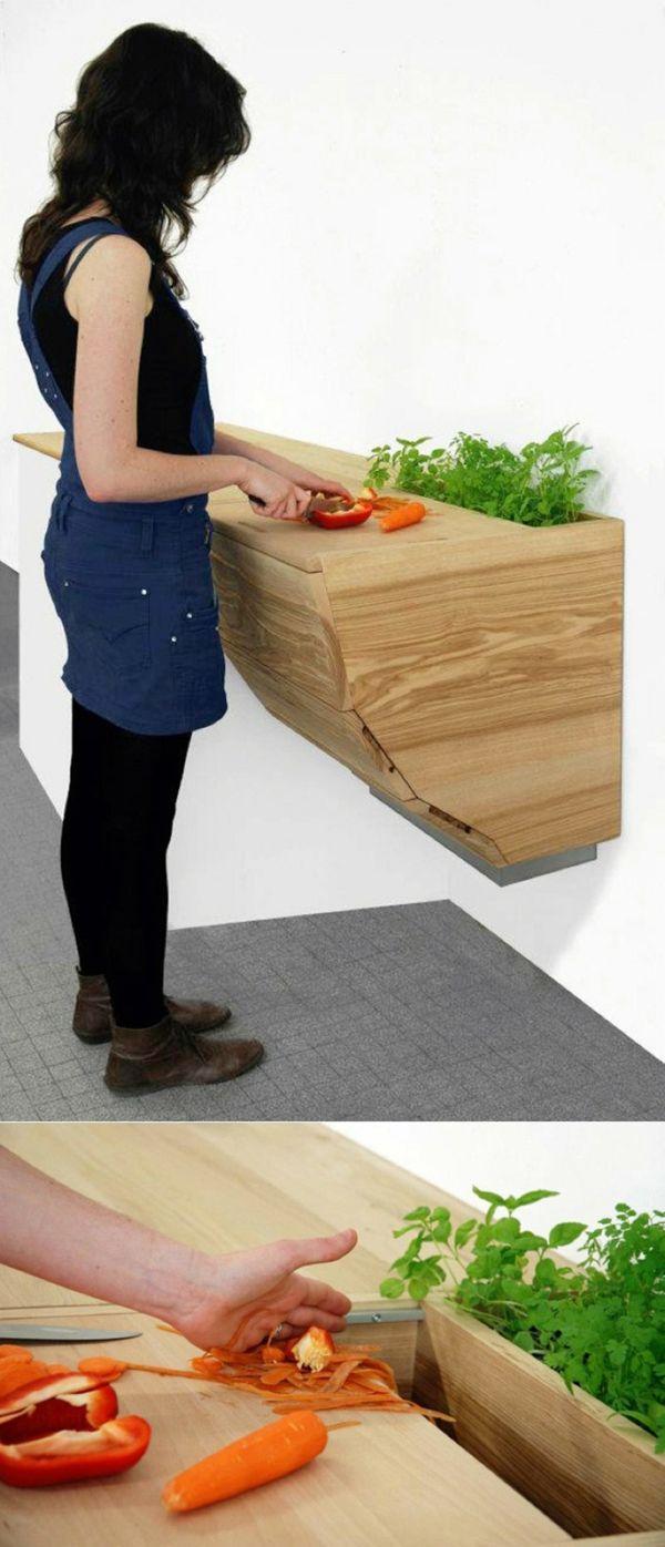 Schön 25 Arbeitsplatten Für Küchen, Die Sie Mit Ihrem Design Faszinieren