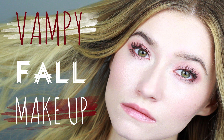 Vampy-Coppery/Fall Make up   Enhancing Hazel Eyes