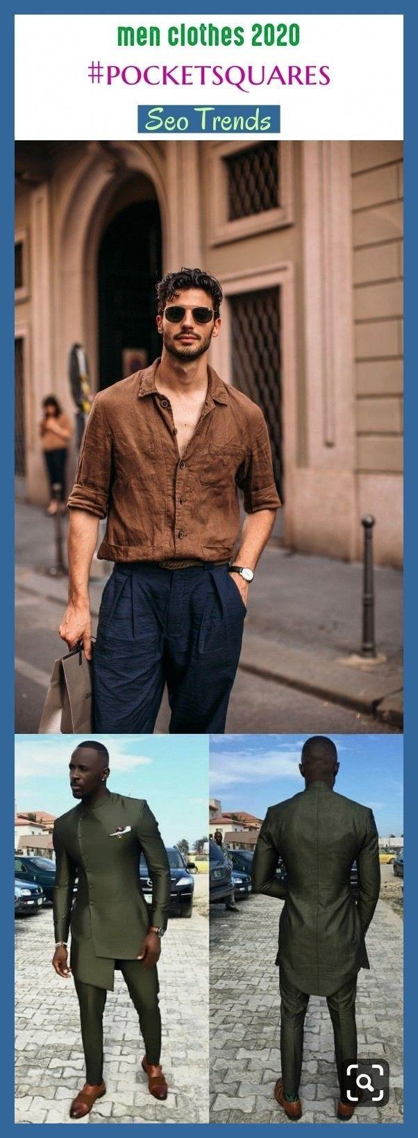 Ropa de hombre 2020 #pocketsquares #seo # seo2020 #trending. ropa de hombre casual, hombres … – #casua …