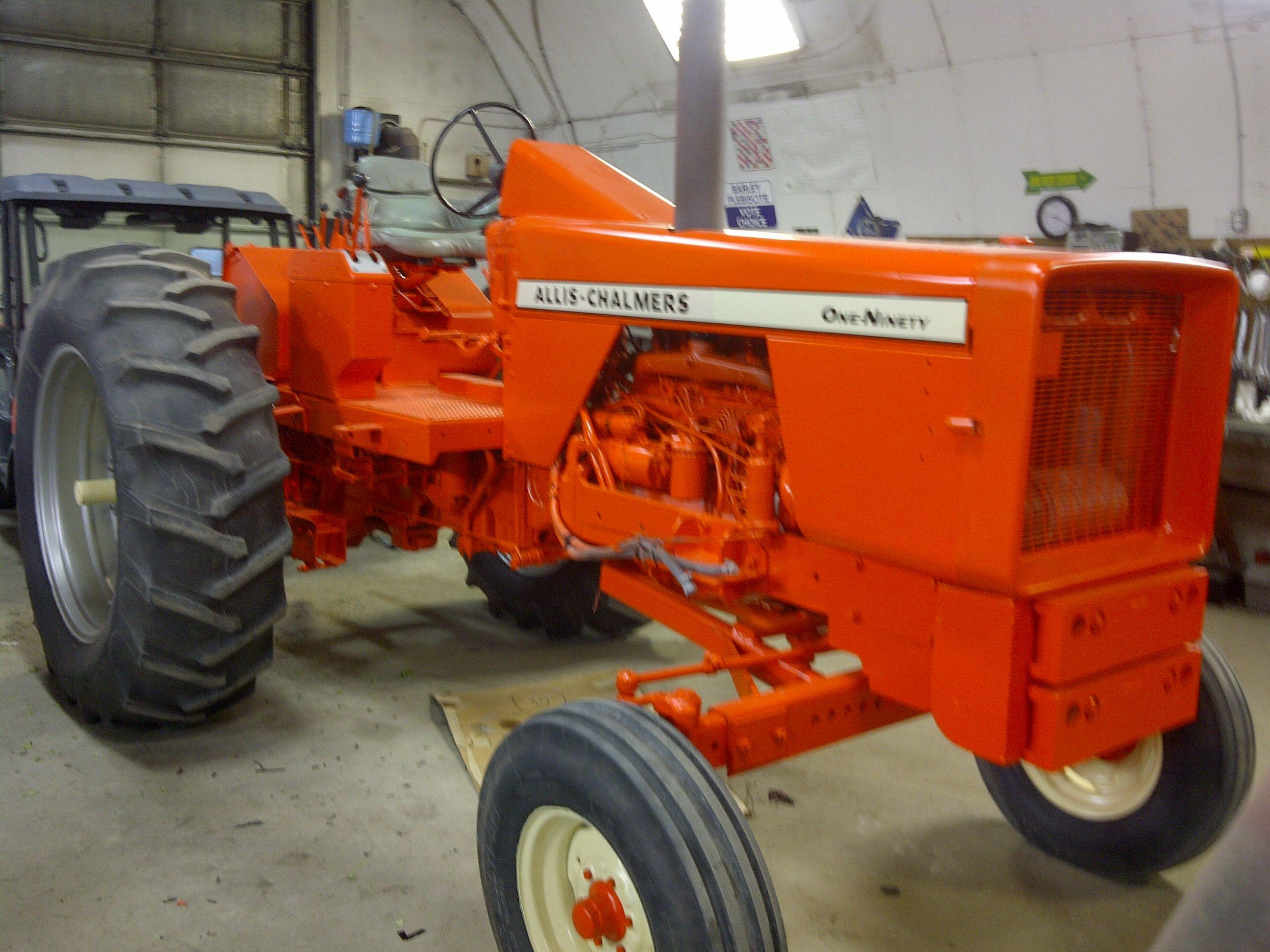 Restoring Some Old Allis Chalmers Tractors | Allis ...
