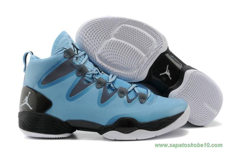 2015 Air Jordan 28 Sky Blue Shoes Features Whole Foot Zoom Sneaker For Men  Shoes Online