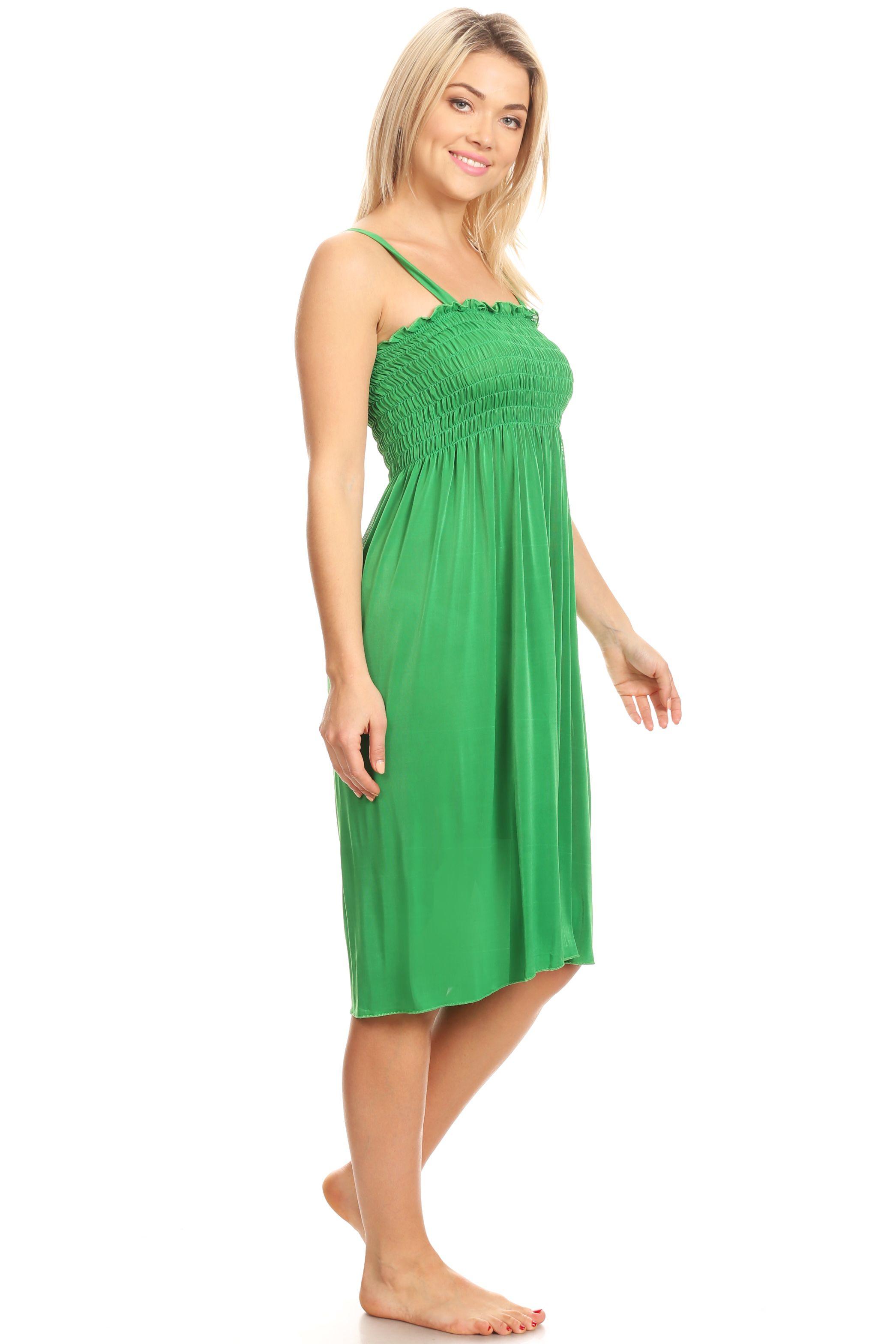 Lati Fashion Sd005 Sun Dress Beach Cover Up Stretch Knee High Tank Top Walmart Com Beach Dresses Dresses Fashion [ 3136 x 2091 Pixel ]