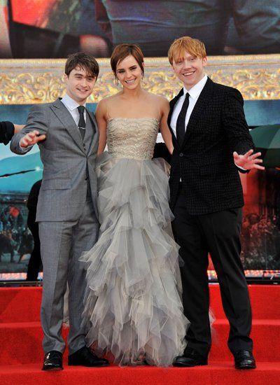 Von Damals Bis Heute Harry Potter Ron Daniel Radcliffe Emma Watson Haare