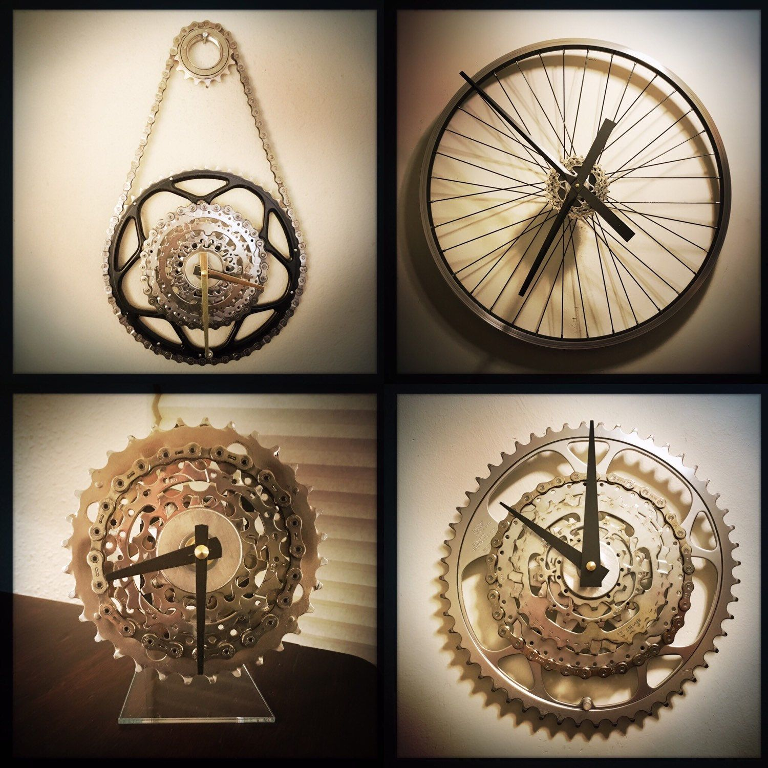 Large wall clock bike gift for men steampunk wall clock large wall clock bike gift for men steampunk wall clock industrial bicycle clock mountain biker gift steampunk decor unique wall clock amipublicfo Images