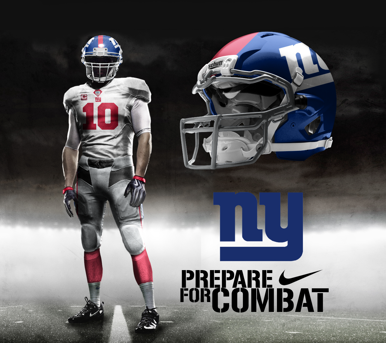 New York Giants Away by on
