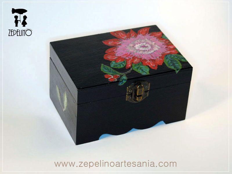 www.zepelinoartes... Cajas de madera | Vintage | Decoupage | Manualidades | Restauración | Decoración de cajas